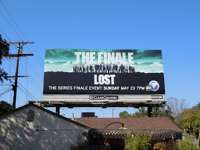 LOST series finale TV billboard