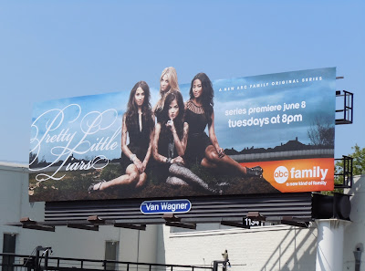 Pretty Little Liars TV billboard