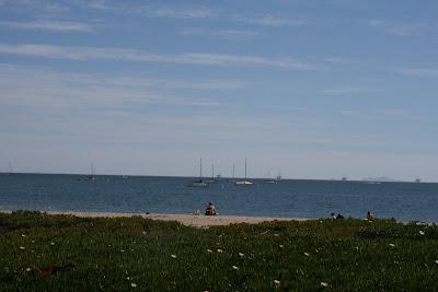 Santa Barbara Beach ocean views
