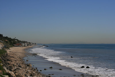 Malibu coastline
