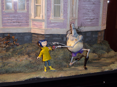 Stop-motion models from the film Coraline