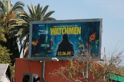 Watchmen - Rorschach movie billboard