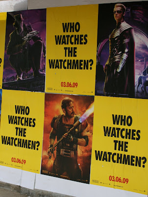 Watchmen teaser movie posters