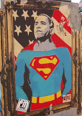 Super President Obama poster