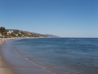 Paradise Cove beach