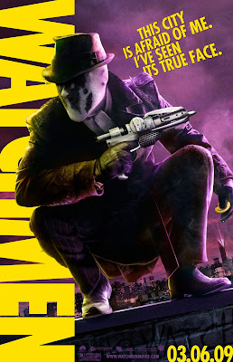 Rorschach Watchmen movie poster