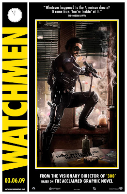 The Comedian Watchmen poster
