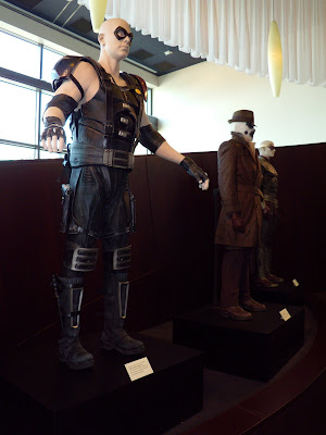 Watchmen film costumes on display at ArcLight Sherman Oaks