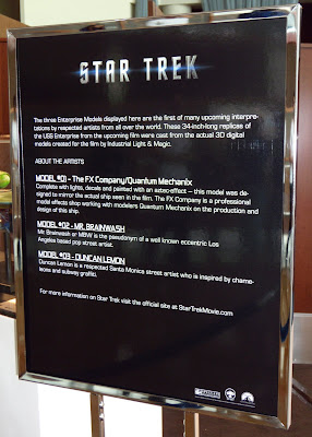 Star Trek Enterprise replica model explanation
