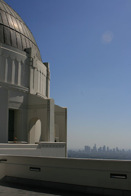 Griffith Observatory Downtown LA view