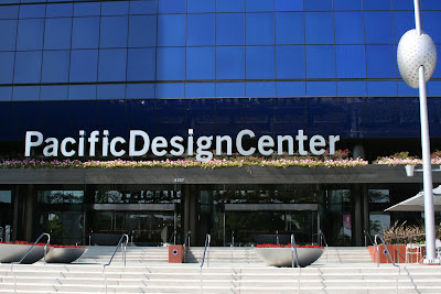 Pacific Design Center Melrose Avenue entrance