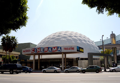 Cinerama Theatre Dome in Holywood