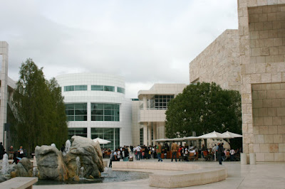 The Getty Center Museum Courtyard