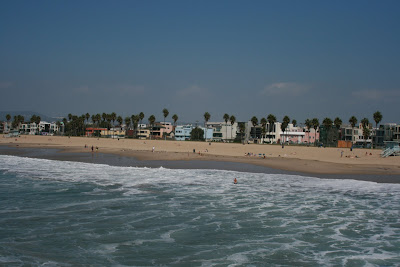 Venice beach Pacific Ocean and coastline