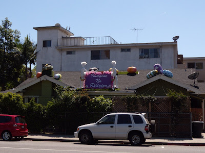 Alternative Easter house in West Hollywood