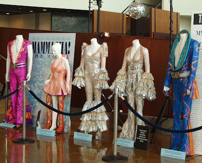 Original costumes from Mamma Mia The Movie
