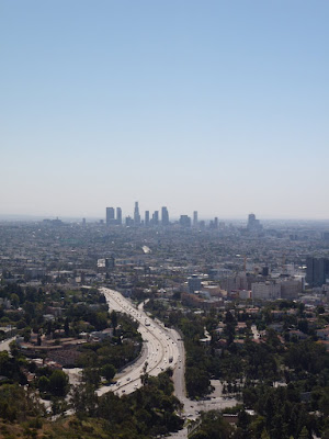 Hollywood Bowl Overlook Downtown view