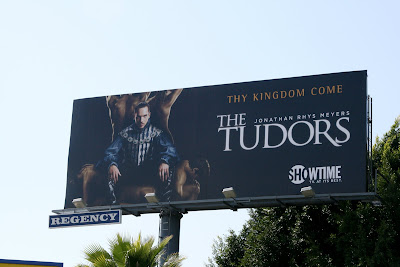 The Tudors TV show billboard