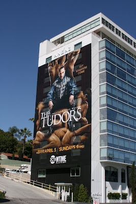 Tudors season 3 TV billboard