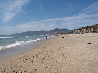 Zuma Beach in Malibu
