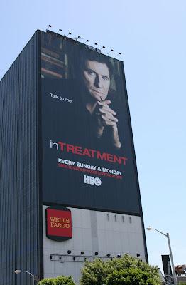 In Treatment tV billboard on Sunset Blvd