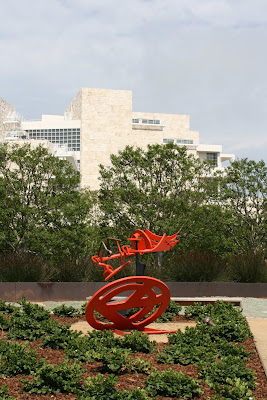 Gandydancer's Dream sculpture at The Getty Center