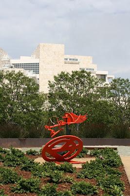 Gandydancer's Dream sculpture at The Getty Center