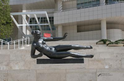 Getty Center Arrival Plaza Air sculpture