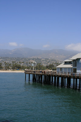 Stearns Wharf view of Santa Barbara