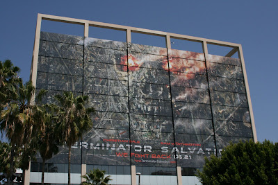 Terminator Salvation movie building billboard