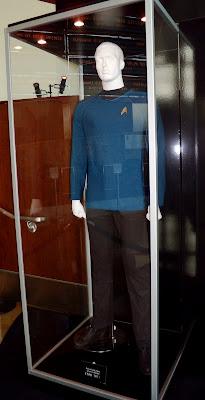 Star Trek movie costume blue uniform