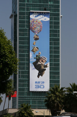 Disney's UP movie billboard