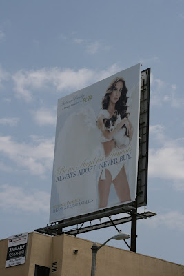 PETA Angel for Animals billboard