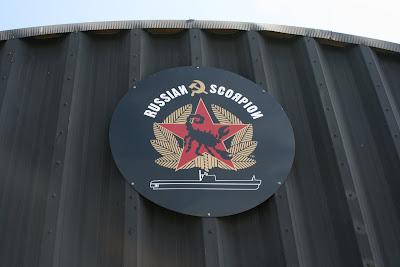 Russian Scorpion submarine sign