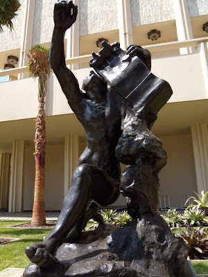Rodin's Orpheus sculpture at LACMA