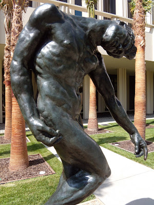 The Shade Rodin bronze sculpture
