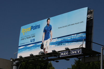 Royal Pains TV billboard