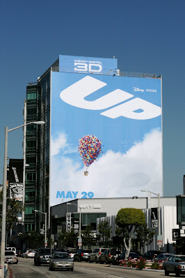 Disney Pixar's UP teaser movie billboard