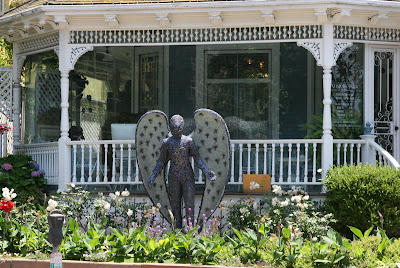 Community Angel at Angels Attic museum in Santa Monica