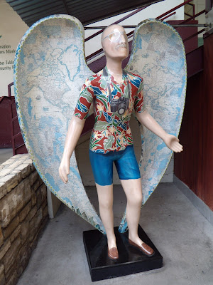 Travel Angel at the Farmers Market