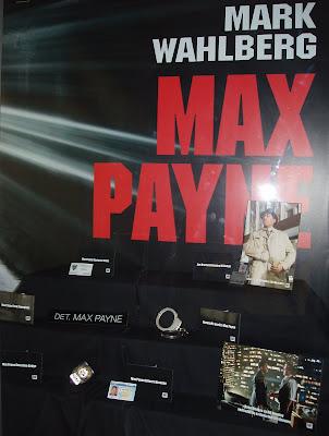 Original Max Payne movie props