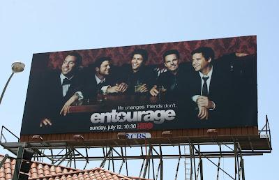 Entourage season 6 TV billboard on Sunset Blvd