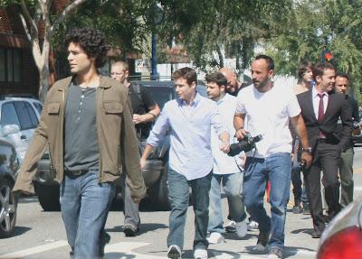 Adrian Grenier and Entourage cast