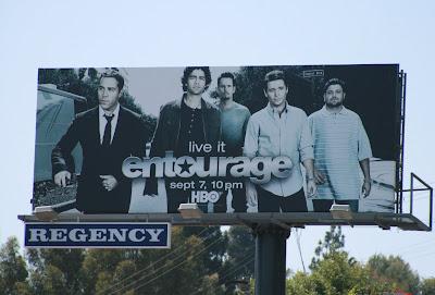 Entourage TV show season 5 cast billboard