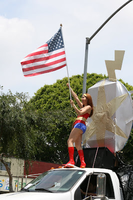Wonder Woman at West Hollywood Gay Pride Parade 2009