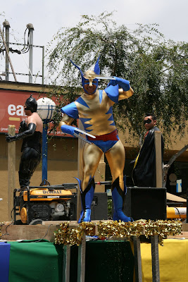 Wolverine at West Hollywood Gay Pride Parade 2009