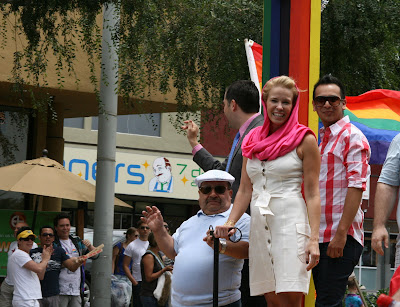 Chelsea Handler at West Hollywood Gay Pride Parade 2009