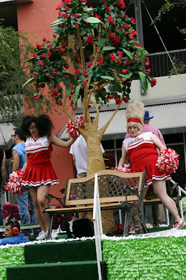 West Hollywood cheer at Gay Pride Parade 2009
