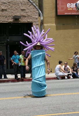 West Hollywood Gay Pride Parade 2009 sea-life costume