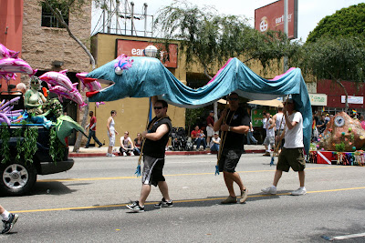 WEHO Gay Pride Parade 2009 sea creatures